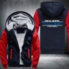 Jacket 2019 New York Giants NFL Luxury Hoodies Super Warm Thicken Fleece Men's Coat US Red/Blue
