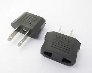 10X Travel Charger Wall AC Power Plug Adapter Converter EU Europe EURO to US USA