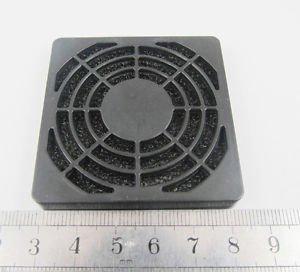 1pcs Black Dustproof Dust Fan Filter for DC PC Fan L 50mm 5cm New