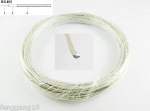 """40"""" 1M 3FT Semi-Rigid Flexible RG405 0.086"""" RF Coaxial Cable"""