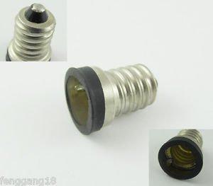 10pcs European E14 to US E12 Candelabra Base Socket LED Light Bulb Lamp Adapter