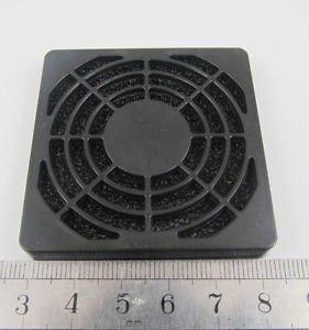 Black Dustproof Dust Fan Filter for DC PC Fan 40mm 4cm New