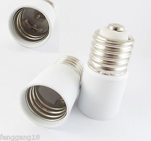E39 To E39 Socket Base LED Halogen CFL Light Bulb Lamp Extend Adapter Converter