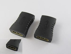 HDMI Female To Female Coupler Gender Extender Adapter Connector F/F HDTV 1080P