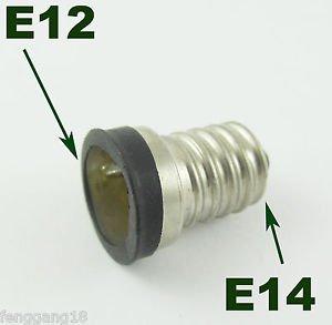 European E14 to US E12 Candelabra Base Socket LED Light Bulb Lamp Adapter Holder