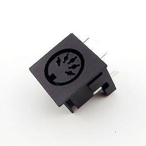 5pcs DIN 5 Pin Circular Jack Female Panel Mount PCB Mount Connector Adapter