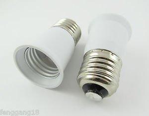 E27 to E27 Extend Base LED Halogen CFL Light Bulb Lamp Adapter Converter Holder
