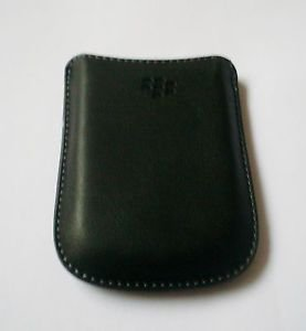 OEM Black PU Leather Case Sleeve Case Pouch Cover For BlackBerry Curve 8520 9300