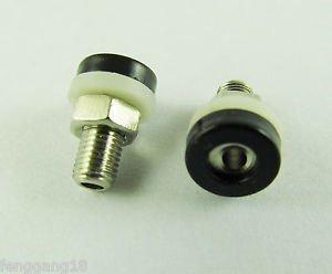 10x Banana Socket Jack 2mm Mini Banana Plug Brass Receptacle Binding Post Black