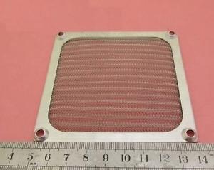 1x 92mm Aluminum Dustproof Dust Mesh Grill Guard Filter for PC Case Cooling Fan