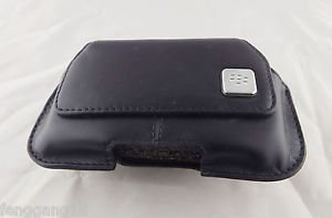 1pcs Black Leather Swivel Belt Clip Holster Pouch Case for Blackberry Torch 9800