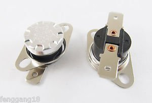 5pcs KSD301 Temperature Controlled Switch Thermostat 55°C N.O. Normal Open