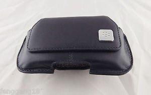 1pcs Black Leather Swivel Belt Clip Holster Pouch Case for Blackberry Curve 8520
