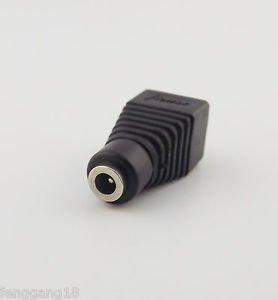 3.5mmx1.35mm Female Jack TO AV Screw Terminal Plug Connector CCTV Video AV Balun