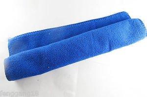 Blue 30cmx30cm Microfiber Towel Cleaning Cloth Ultra Absorbent Car Micro Fiber