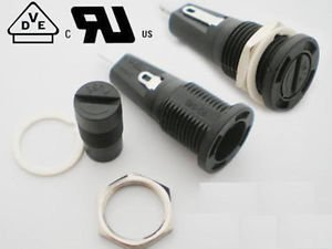 Fuse Holder R3-54B 6.3A 250V 10A 125V for 5x20mm Fuse