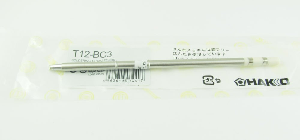 T12-BC3 Replace Soldering Solder Iron Tip For Hakko Shape BC3 PCB Repair Product