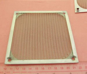 1x 120mm Aluminum Dustproof Dust Mesh Grill Guard Filter for PC Case Cooling Fan