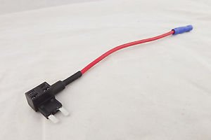 Add-A-Circuit Low Profile Blade Style Car Fuse Holder 16AWG TAP Adapter Mini ATM