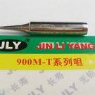 JLY Replace Soldering Solder Leader-Free Solder Iron Tip For Hakko 936 900M-T-I