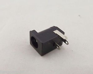 2x Connector 5.5x 2.1mm Female DC Power Supply 3 Pin Barrel-Type PCB Panel Mount
