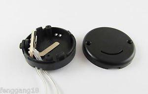 Black CR2032 X 2 Button Battery Holder Case Box Smile Flicker Flash String Light