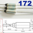 5Pcs Microtemp Thermal Fuse 172°C 172 Degree TF Cutoff SF169E 10A AC 250V New
