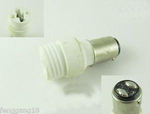 BA15D to G9 Socket Base LED Halogen CFL Light Bulb Lamp Adapter Converter Holder