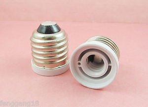 E27 to E12 Socket Base LED Halogen CFL Light Bulb Lamp Adapter Converter Holder
