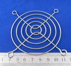 Metal Wire Finger Guard 80mm CPU Fan DC Fan Grill/Guard Protector for PC Silvery