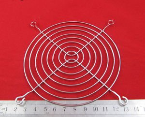 1x Metal Wire 120mm 12cm CPU Fan DC Grill/Guard Protector PC System Silvery Tone