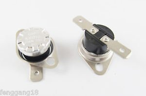 5pcs Temperature Controlled Switch Thermostat 60°C N.C. KSD301 Normal Close 10A