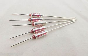 5pcs Microtemp Thermal Fuse 184°C 184 Degree TF Cutoff Cut-off 10A AC 250V New