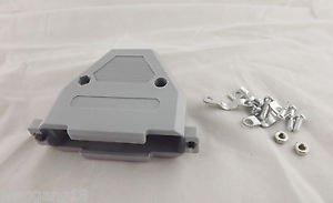 1x D-SUB Plastic Hood Cover Backshell & Screws for D-Sub 37 Pin DB37 DB62 62Pin