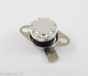 1pcs Temperature Controlled Switch Thermostat 55°C N.C. KSD301 Normal Close 10A