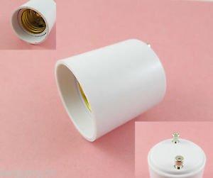 10Pcs GU24 to E27 Socket Base LED Halogen CFL Light Bulb Lamp Adapter Converter