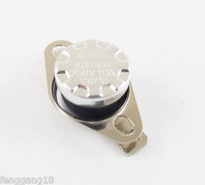 1pcs Temperature Controlled Switch Thermostat 130°C N.C. KSD301 Normal Close 10A