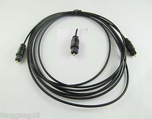 1pcs Digital Optical Fiber Optic Toslink Audio Cable OD 2.2mm 3M 10ft 10feet