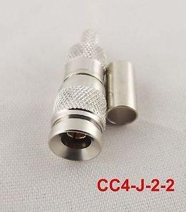 1pcs CC4 Female Straight CC4-2-2 RF Cable Coaxial Coax Connectors