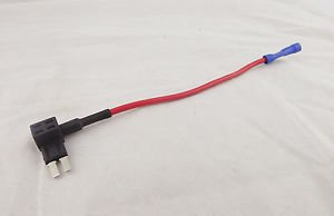 1x Add-a-Circuit Fuse TAP Mini ATM APM Low Profile Blade Car Fuse Holder Adapter