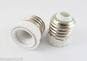E26 To E12 Socket Base LED Halogen CFL Light Bulb Lamp Adapter Converter Holder