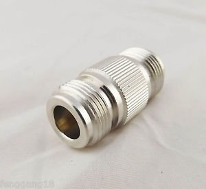 1pcs N Female To N Female Jack Straight In Series RF Coaxial Adapter Connector