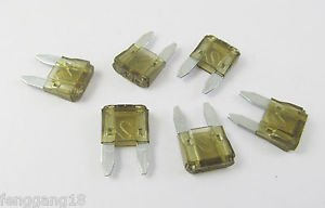 100x Mini Assorted Car Blade Fuse Auto Cars & Trucks Fuses Replacement 32V 7.5A