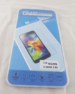 9H Tempered Glass Screen Protector Protective Film for Apple iPhone 5 5S 4S 6 6S