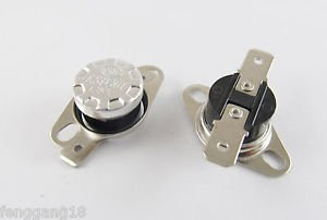 10pcs KSD301 Temperature Controlled Switch Thermostat 135°C N.O. Normal Open