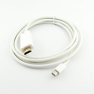 Mini Display Port DP To HDMI Male Adapter Cable For MacBook Pro Air MAC 1.8M 6FT
