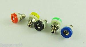 100x Banana Socket Jack For 2mm Mini Banana Plug Receptacle Binding Post 5 Color