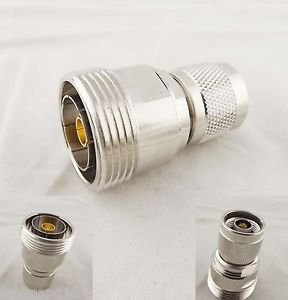 1pcs L27-N Adapter L27 Female Jack to N Male Plug Straight RF Coaxial Connector