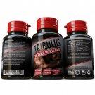 Pure Tribulus Terrestris Extract Bodybuilding Bigger Muscles 96% Saponins Pills 3x bottles