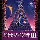 Phantasy Star III (3): Generations Of Doom